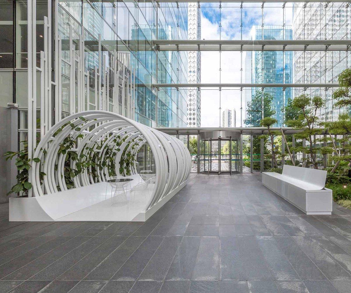décoration métallique intérieur et patio en métal