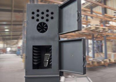 Chaudière en acier et tôlerie industrielle
