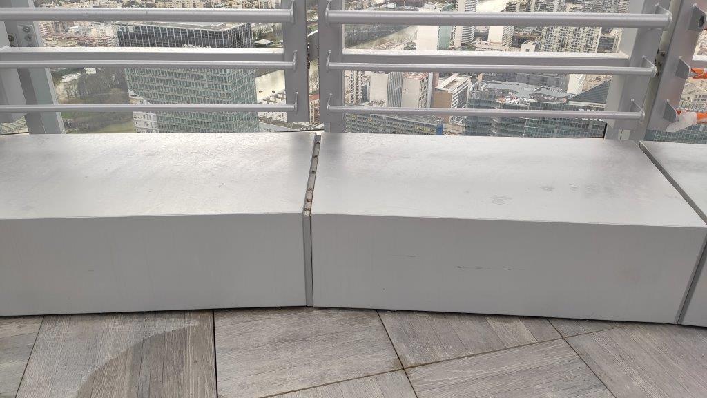 Couvertine en aluminium sur mesure