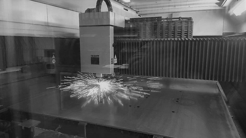 Tôlerie découpe Laser et machine de découpe Laser Trumpf