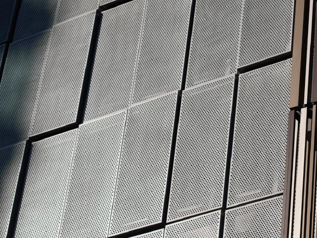 Casette bardage fines métalliques