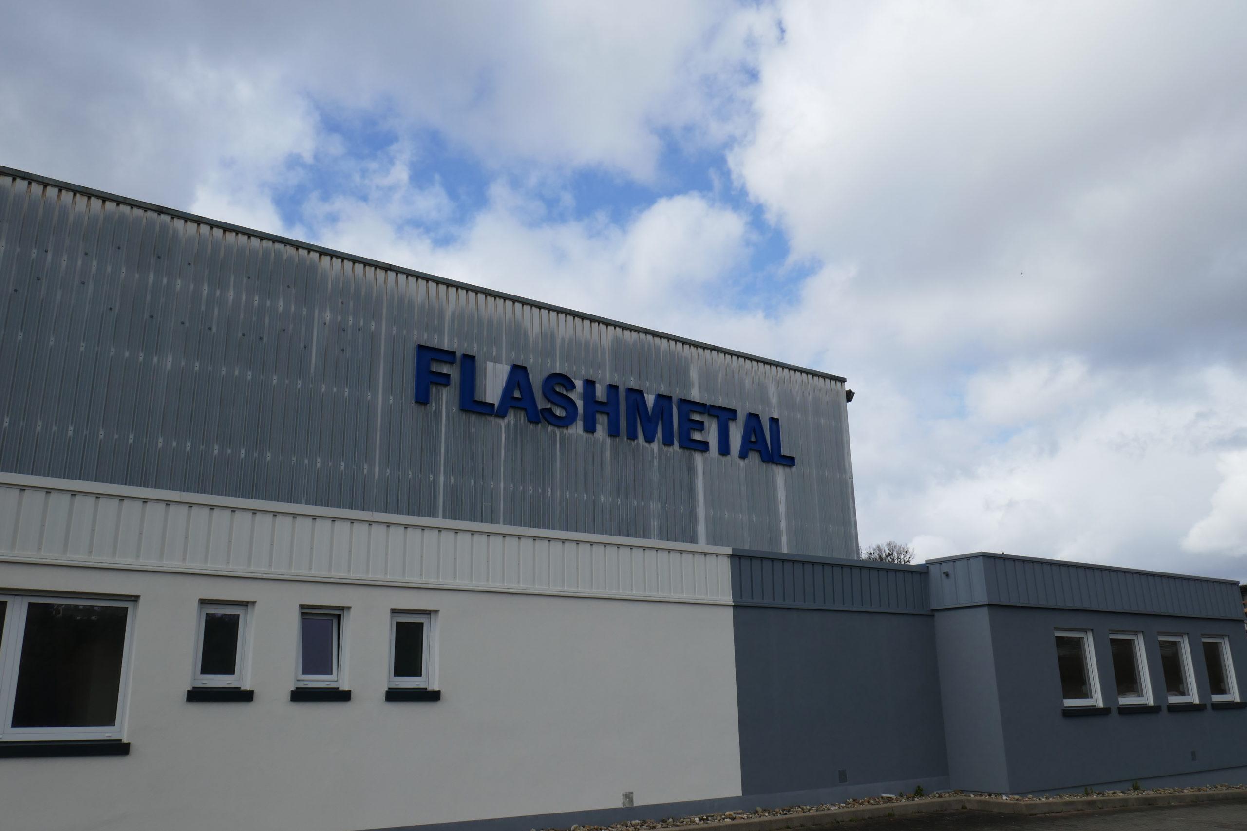 Usine tôlerie industrielle : Flashmetal